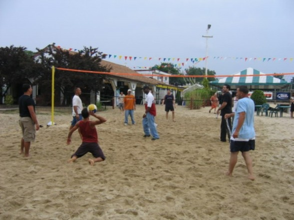 Salseros Playing Volley Ball 2
