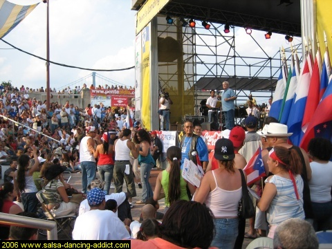 Hispanic Festival Crowd