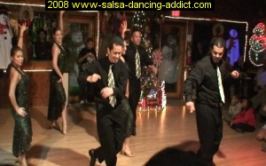 Salsa Dancing Advanced Performance Group December 2007 Atrium Dance Studio