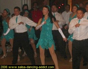 Salsa Dancing Advanced Performance Group Men 1