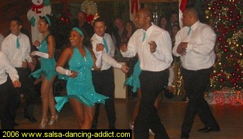 Salsa Dancing Advanced Performance Group Men 2