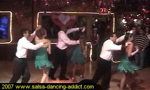 Advanced Salsa Performance Group