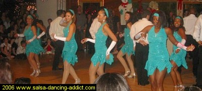 Salsa Dancing Advanced Performance Group Women
