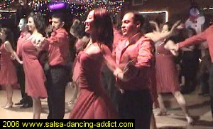 Salsa Dancing Intermediate Performance Group 2006 George's Group