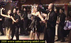 Salsa Dancing Intermediate Performance Group 2006 Barbara's Group