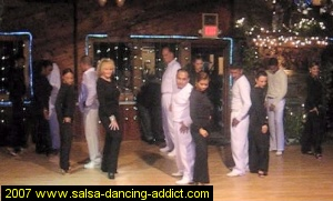 Salsa Dancing Intermediate Performance Group 2007