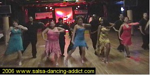Salsa Dancing Intermediate Performance Group 2004
