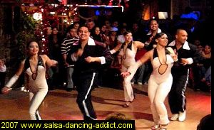 Xibicion Salsa Performance Group from Santo Rico Dance School, New York, NY