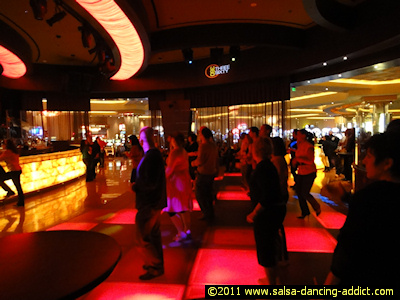 Club 360 Salsa Dancing At Parx Casino