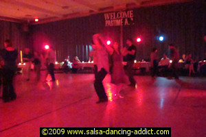 Pastime Athletic Club Salsa Dancing