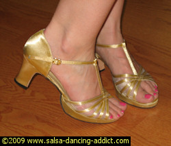 Platform Dance Shoes Heel