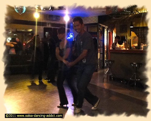 Salsa Dancing at Latin Soul In Ginowan City Okinawa