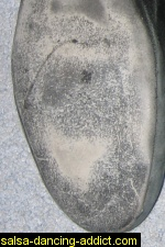 Salsa Shoe Sole Worn Out
